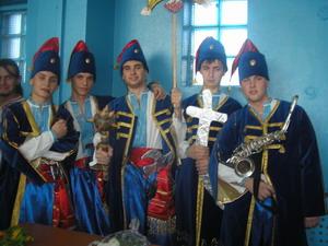 """Відбувся конкурс """"Козацькі розваги"""""""